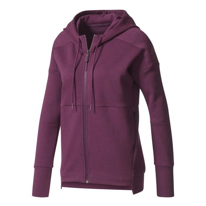 on sale ba524 12872 veste adidas femme violette pas cher 1
